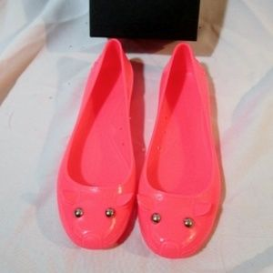 NEW MARC JACOBS KITTY CAT PINK JELLY Shoe